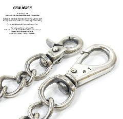 amp japan 11ad-209SV brass wallet chain