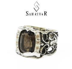 SAHRIVAR sr18s11a/Stone Velvet Lounge ring