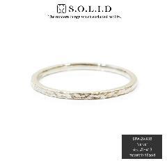 S.O.L.I.D SRA-29 K18WG carve ring