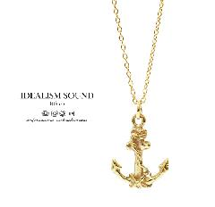 idealism sound x EXTREME Anchor Necklace/K10Gold
