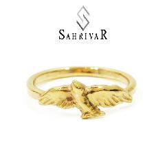 SAHRIVAR sr41b14a Dove Ring