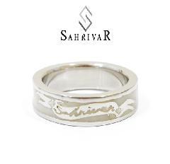 SAHRIVAR sr49s14a Enameled Ring
