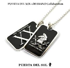 PUERTA DEL SOL ×20 BRAND Collaboration 20th ID Tag A type