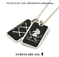 PUERTA DEL SOL ×20 BRAND Collaboration 20th ID Tag B type