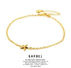 GARDEL gda002OS Mercury Anklet Gold