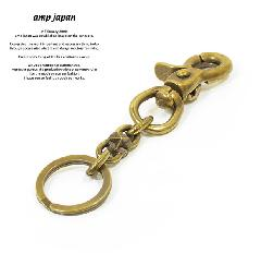 amp japan 15AD-801BRS Star Studs Key Chain