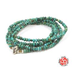Sunku SK-036 Turquoise Beads 5strings Necklace & Bracelet