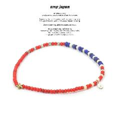 amp japan 15AH-702 Vintage White Hearts Anklet