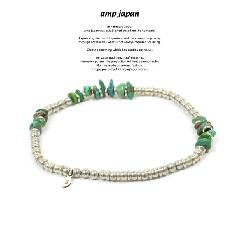 amp japan 15AH-703 Turquoise Anklet