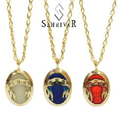 SAHRIVAR SN69B14A Enarmeled Necklace