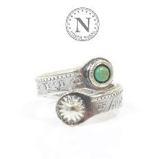 NORTH WORKS N-205 MORGAN TWIST RING SLIM