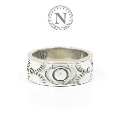 NORTH WORKS W-022 900Silver Stamp Ring