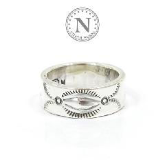 NORTH WORKS W-023 900Silver Stamp Ring