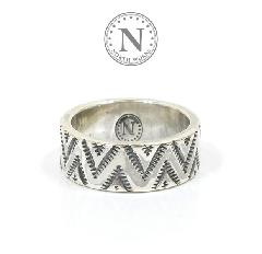 NORTH WORKS W-050 900Silver Stamp Ring