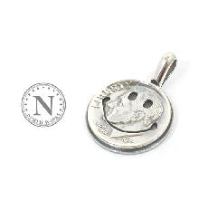 NORTH WORKS N-009 10&cent Smile Coin Pendant