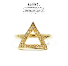 GARDEL GDR-085/K18YG CRAFFITI RING