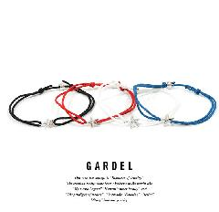 GARDEL GDA-001OS ONE STAR ANKLET/SILVER