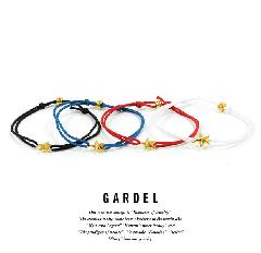 GARDEL GDA-001OS ONE STAR ANKLET/GOLD