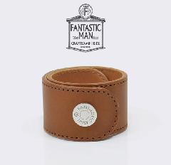 FANTASTIC MAN / Leather Bangle #321 SV Cognac