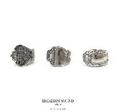 idealism sound ATELIER MADE ANTIQUE SPOON RING