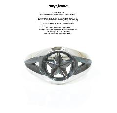 amp japan 16AC-202 Triangle Wire Star Ring -Narrow-