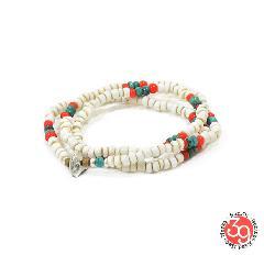Sunku SK-148 Antique Beads Mix 3 Roll Necklace&Bracelet