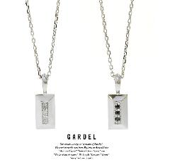 GARDEL GDP-144 Block Stone Necklace