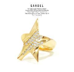 GARDEL GDR-092 K18YG D.B. Ring