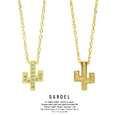 GARDEL GDP-137 K18YG TO,ME,Collection Cactus Necklace