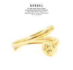 GARDEL GDR-099 K18YG Courage Ring