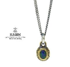 HARIM HRPEX07 OPAL NECKLACE / BRASS