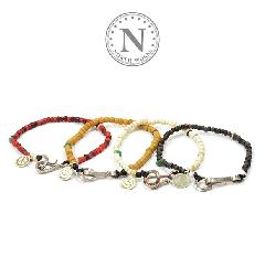 NORTH WORKS D-0612 Venetian Beads Bracelet
