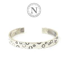 NORTH WORKS W-218 Dot Stamped bangle