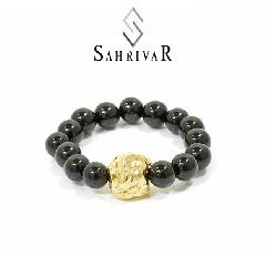 SAHRIVAR SR84B16S Jesus Ball Ring