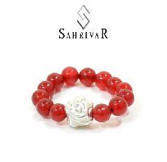 SAHRIVAR SR85S16S Jesus Ball Ring