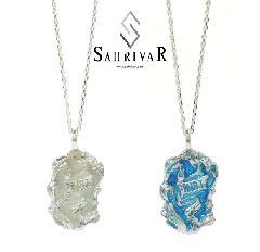 SAHRIVAR SN104S16S INRI Enameled Necklace