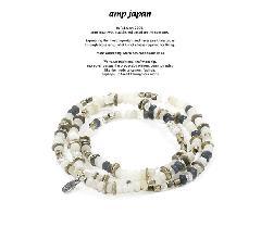 amp japan 16AHK-471WH Color Quartz Bracelet & Necklace - Air -
