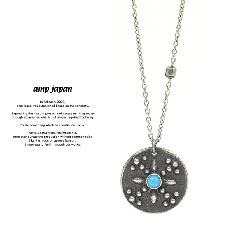 amp japan 16AO-150 X Studs Coin Necklace