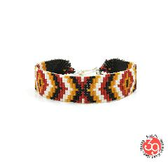 Sunku SK-174 RAG Beads Braid Bracelet