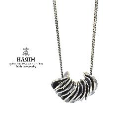 HARIM HRP116SV Distorted Disk Chain Necklace SV