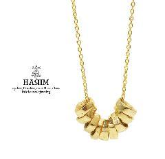 HARIM HRP118GP Rock Beads Chain Necklace