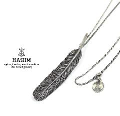 HARIM HRT003BK Feather Necklace /L 【RIGHT】