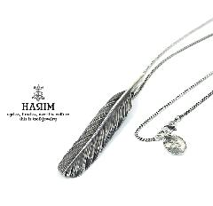 HARIM HRT004BK Feather Necklace /M 【CENTER】