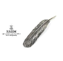 HARIM HRT005BK Feather Pendant /M 【LEFT】