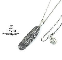 HARIM HRT006BK Feather Necklace /M 【RIGHT】