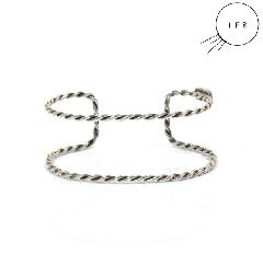 IF8 AB-04 TWIST BANGLE