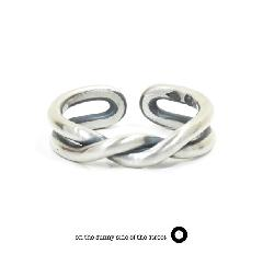 on the sunny side of the street 610-267 Silver Twist Ring【NEW ITEM】