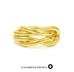 on the sunny side of the street 610-270 Gold Sailor Knot Ring【NEW ITEM】