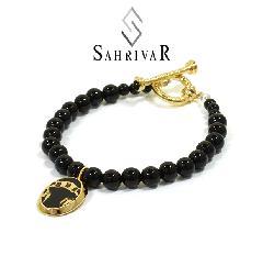 SAHRIVAR SB52S16S Pradatory Bracelet BLACK