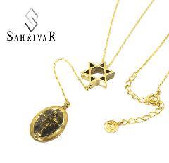 SAHRIVAR SN109B17S Brass Maria Enameled Rosary